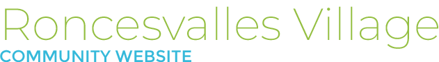 Roncesvalles Village Logo