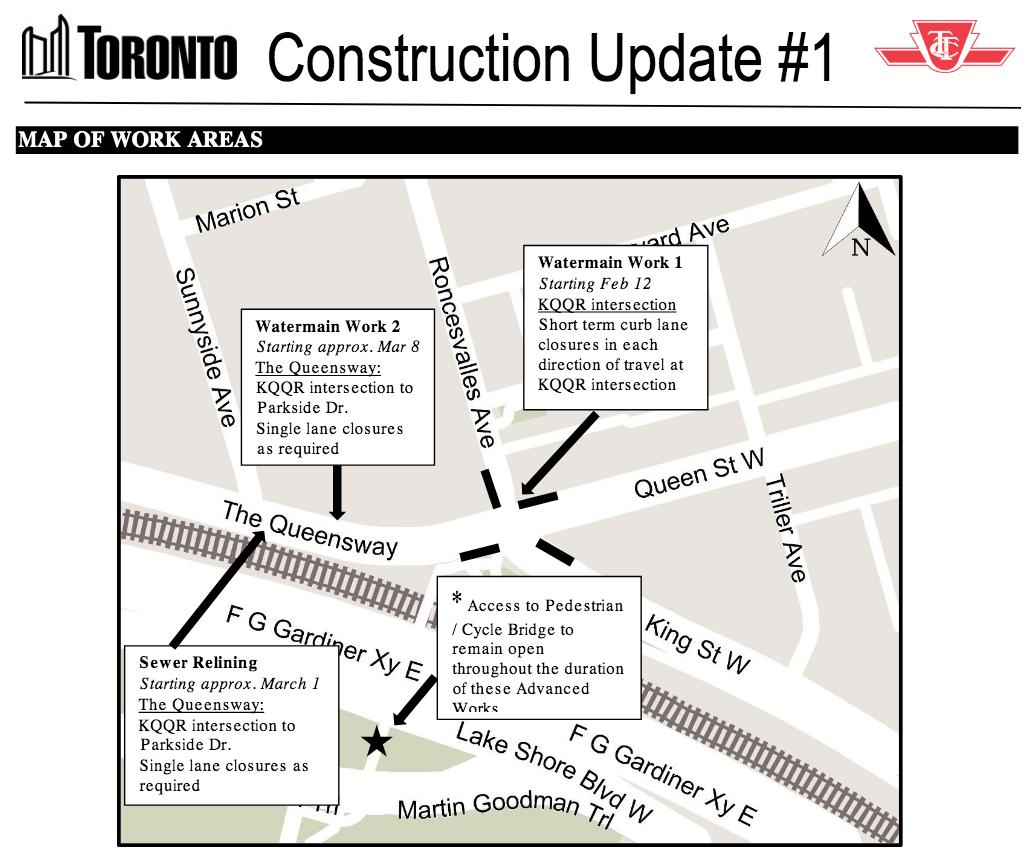 Roncesvalles Construction Update